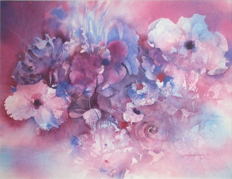 bouquet au toupet