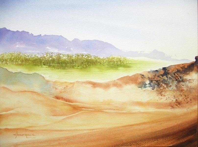 désert d'Asie